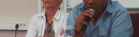 Arielle Blosch et Bernard Lagier a l'UAG